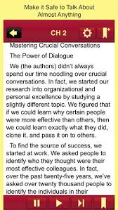 crucial conversations summary crucial conversations on the app store