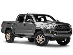 2016-2019 Tacoma Side Step Bars & Running Boards | ExtremeTerrain