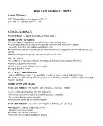 Retail Resume Skills Impressive Resume For Sale Basically Salesforce Resume Skills Putasgae