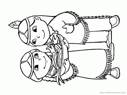 Small Picture Coloring Pages Indians Coloring Home