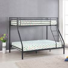 metal bunk bed. Delighful Bed IKayaa TwinOverFull Metal Bunk Bed Frame Black To A