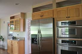 my kitchen refresh extending my images on adding small cabinets above existing kitchen cabinets