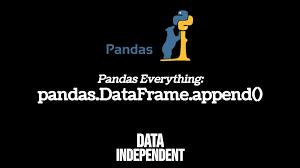 pandas append pd dataframe append