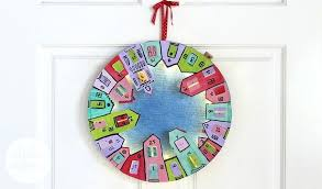 full size of advent calendar wreath for kids diy boyfriend likable ideas s village interior design