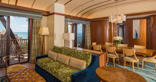 One Bedroom Balcony Suite Signature One Bedroom Deluxe Suite Aulani Hawaii Resort Spa