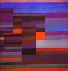 paul klee painting fire in the evening by paul klee