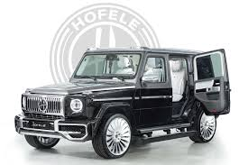 After all, mercedes sweat the. Hofele Design Created A Mercedes Benz G Class With Coach Doors