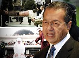 PETALING JAYA: Dr Mahathir Mohamad said he detested the ongoing politicisation of the hudud debate but made no clear position on MCA's move to exploit the ... - mahathir-hudud