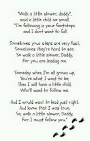 New Dad Quotes Enchanting I Love To Wear My Daddy's Shoes Though My Feet Are Small When They