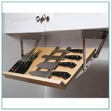 Under Cabinet Knife Storage Canada