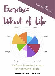 Define Success In Your Career Wheel Of Life Exercise Define Success On Your Own Terms