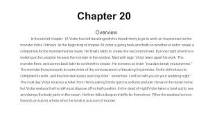 Chapter 20 Overview