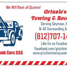 Towing Quote Beauteous Grizzle's Towing And Recovery Get Quote Towing 48 N Chestnut