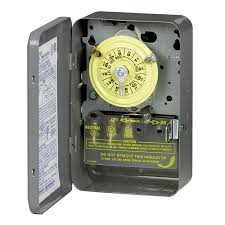 intermatic 40 amp 1 outlet mechanical residential lighting timer at intermatic 40 amp 1 outlet mechanical residential lighting timer