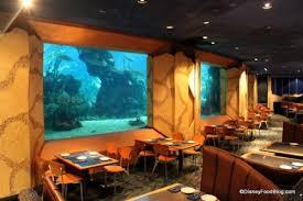 underwater restaurant disney world. Modren Disney Coral Reef Dining Room On Underwater Restaurant Disney World