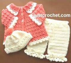 Crochet Patterns For Baby Beauteous Beautiful free crochet patterns for babies crochet baby set free
