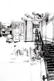Dawn Clements - Artist's Profile - The Saatchi Gallery   Saatchi gallery,  Artist, Urban sketching