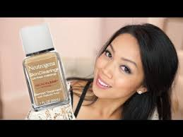 neutrogena skin clearing oil free foundation review first impression itsjudytime