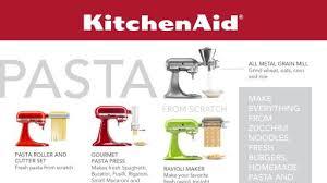 kitchenaid new attachments. new attachments help make kitchenaid® stand mixer a true \u201cculinary center\u201d kitchenaid t