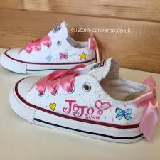 Kids Jojo Siwa Low Tops In 2019 Jojo Siwa Converse