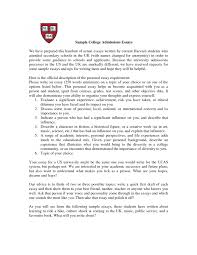 of good college essay example of good college essay