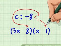 image titled factor second degree polynomials quadratic equations step 7