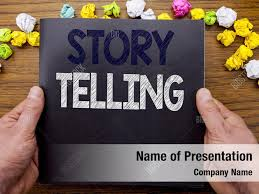Story Book Powerpoint Template Storytelling Powerpoint Theme Powerpoint Template