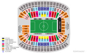 Gillette Stadium Seating Chart Revolution Tickets International Champions Cup Ac Milan V Benfica