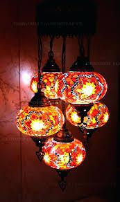 turkish mosaic chandelier hanging lamp turkish glass mosaic chandelier