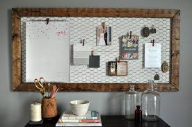 Memo Board Michaels Interesting 32 DIY Memo Boards For Your Home And Office