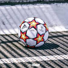 Only official match balls of tournament. Adidas Drop New Match Ball For 2021 22 Champions League