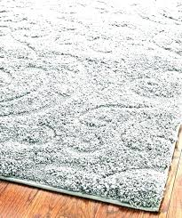 grey plush rug solid area light brilliant within rugs gray wool silver