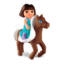 dora the explorer and horse toys for kids  youtube