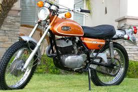 1971 yamaha 250 enduro dt1 street legal