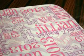 monogrammed baby quilts
