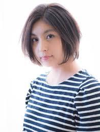 米倉涼子さん風 髪型ひし形フォルムの大人ショートボブ 原宿