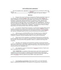 Noncompete Clause 39 Ready To Use Non Compete Agreement Templates Template Lab