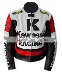 kawasaki ninja motorcycle leather jacket