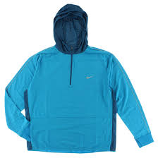 Light Blue Nike Jacket Nike Mens Dri Fit Sprint Half Zip Hoodie Light Blue Xxl 642139 413