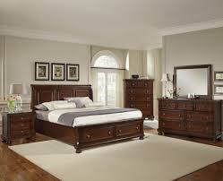 King Bedroom Vaughan Bassett Reflections King Storage Bed With Sleigh Headboard