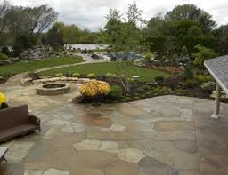 flagstone landscaping. Irregular Flagstone Patio, Crazy Paving Small\u0027s Landscaping Inc Valparaiso, D