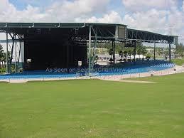 Cruzan Amphitheatre West Palm Beach Fl Seating Chart View