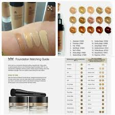 Arbonne Perfecting Liquid Foundation 15 Beautiful Shades