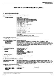 glass mat faced gypsum panels safety data sheet spanish pdf