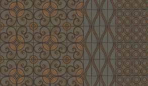 these beautiful patterns from metolius ridge tile are inspired by textiles the ikat pattern would make a great rug but imagine the impact it could make as