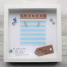 birthday present personalised frame present gift grandad grandpas father s fathers day custom design