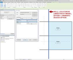 How To Do Design Options In Revit The Architects Desktop Revit Design Options In Linked