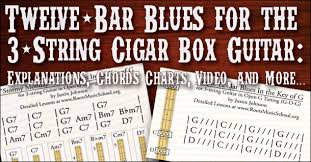 Twelve Bar Blues For The 3 String Guitar Explanations