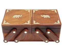 itos365 handmade wooden jewellery box for women jewel