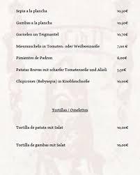 Spanisches Restaurant El Cid 2 - Startseite - Mannheim - Speisekarte,  Preise, Restaurant-Bewertungen